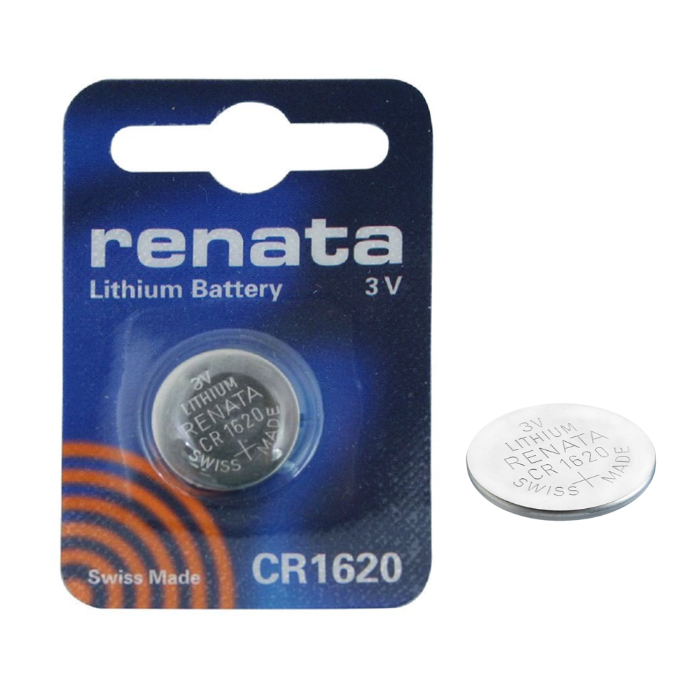 2x renata cr1620 swiss made 3v lithium batteries cell coin button watch battery ebay. Black Bedroom Furniture Sets. Home Design Ideas