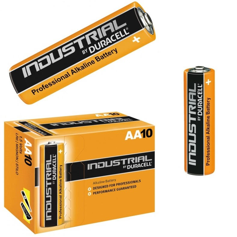50 duracell industrial aa batteries alkaline 1 5v lr6 mn1500 pro cell battery am ebay. Black Bedroom Furniture Sets. Home Design Ideas