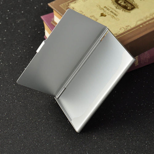 Aluminum Pocket Business Credit Debit Card Case Metal Box