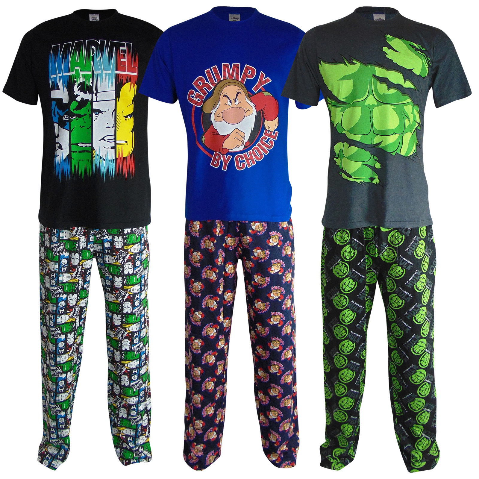 Bedtime Can Be Fun with Men's Novelty Pajama Bottoms. Men's novelty pajama bottoms give you the opportunity to express your individuality from sun-up to sundown. A blend of quirky designs and nostalgic prints contributes to a creative selection of pajama pieces.