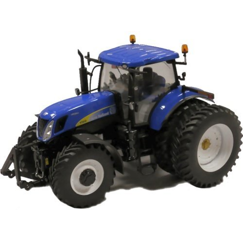 New Holland Tire Rims : Scale ros new holland t row crop dual rear