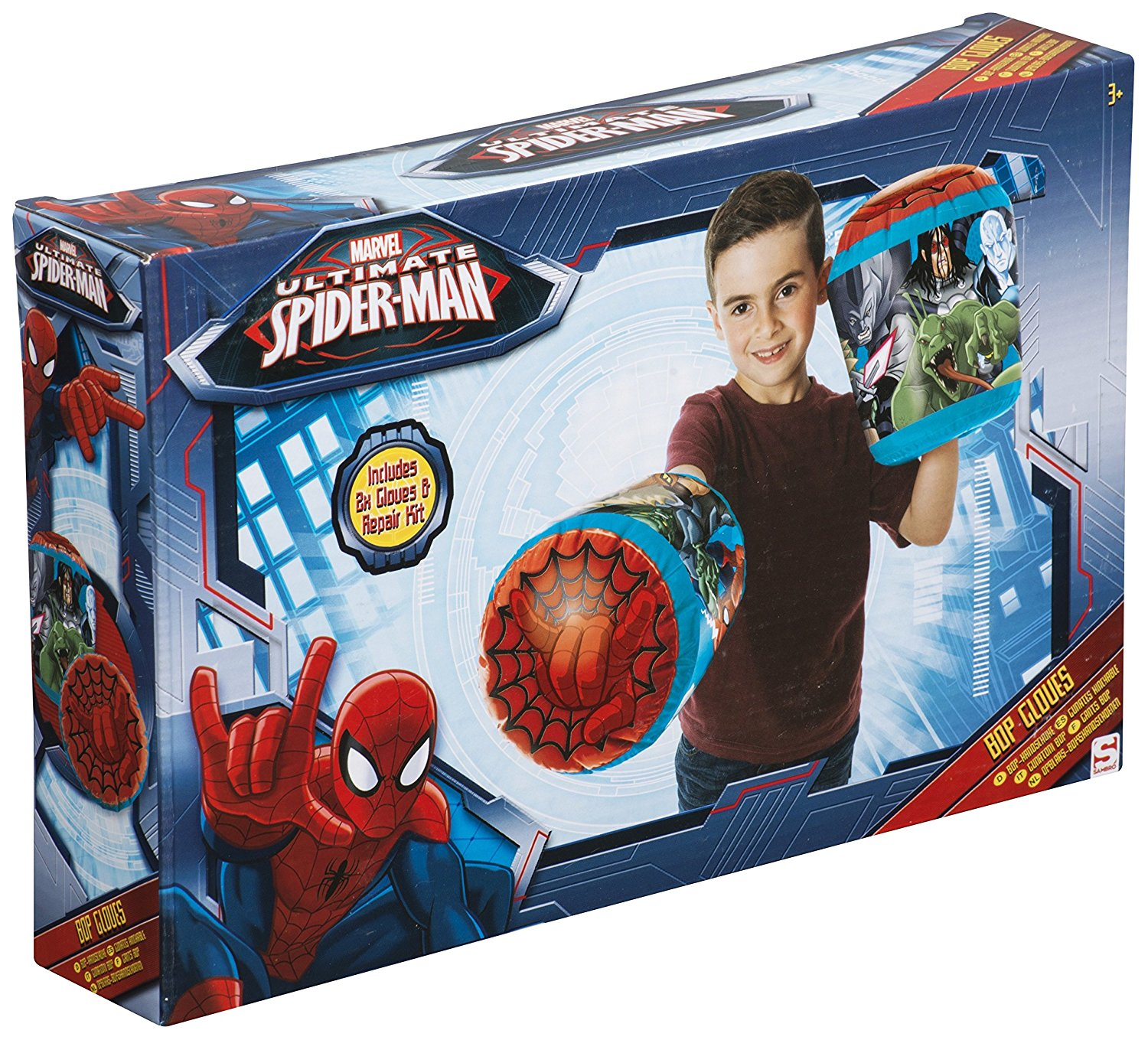 Marvel Ultimate Spiderman Bop Gloves Kids Toy Stocking ...