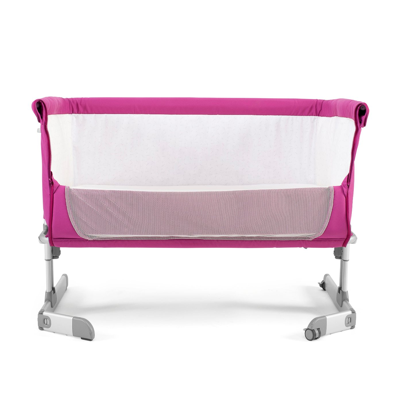 chicco next 2 me co sleeping crib fuchsia ebay. Black Bedroom Furniture Sets. Home Design Ideas