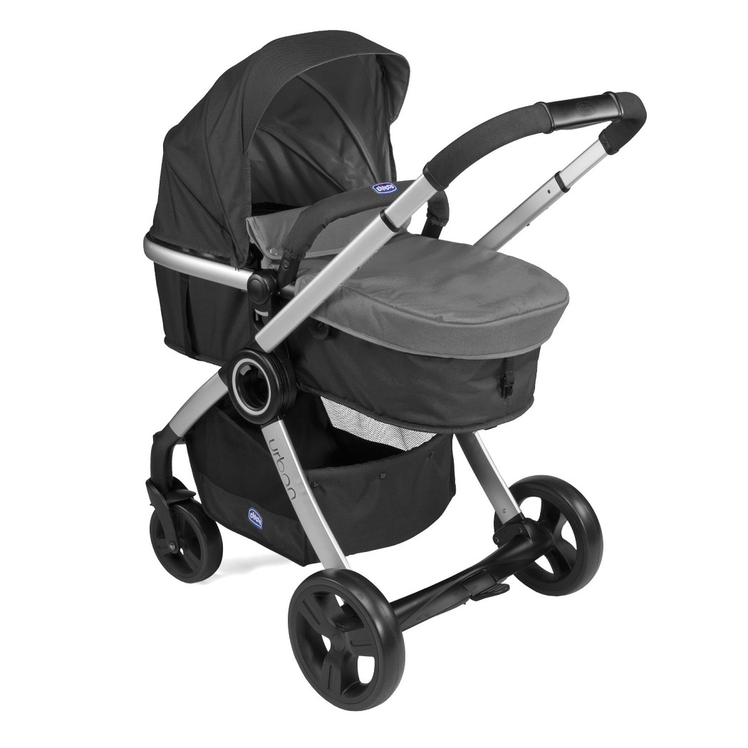 chicco urban stroller in anthracite pushchair pram colour pack ebay. Black Bedroom Furniture Sets. Home Design Ideas