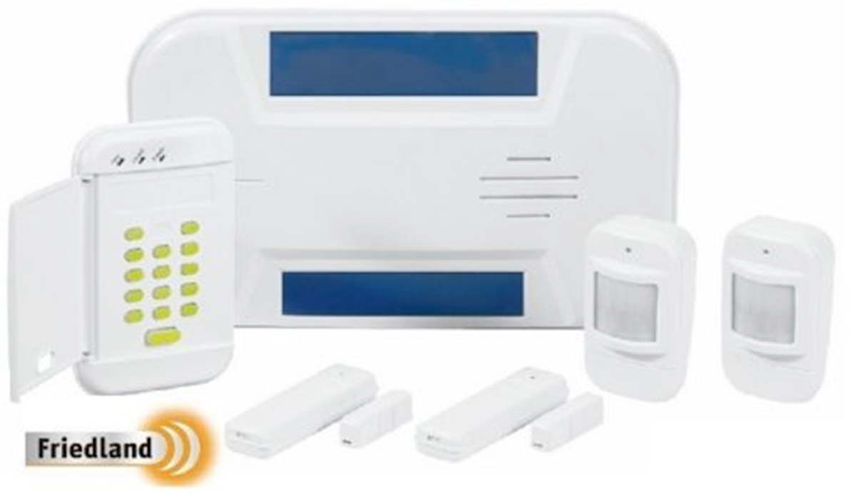 friedland response wha4 wireless alarm kit 2 x contacts 2 x pir 433mhz ebay. Black Bedroom Furniture Sets. Home Design Ideas