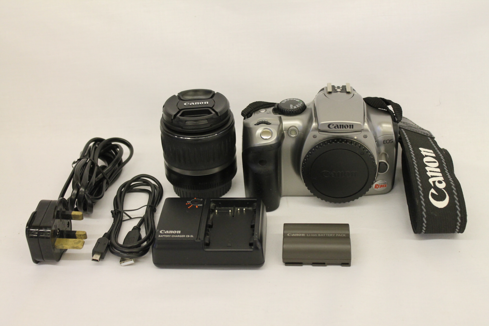 canon eos 300d how to use