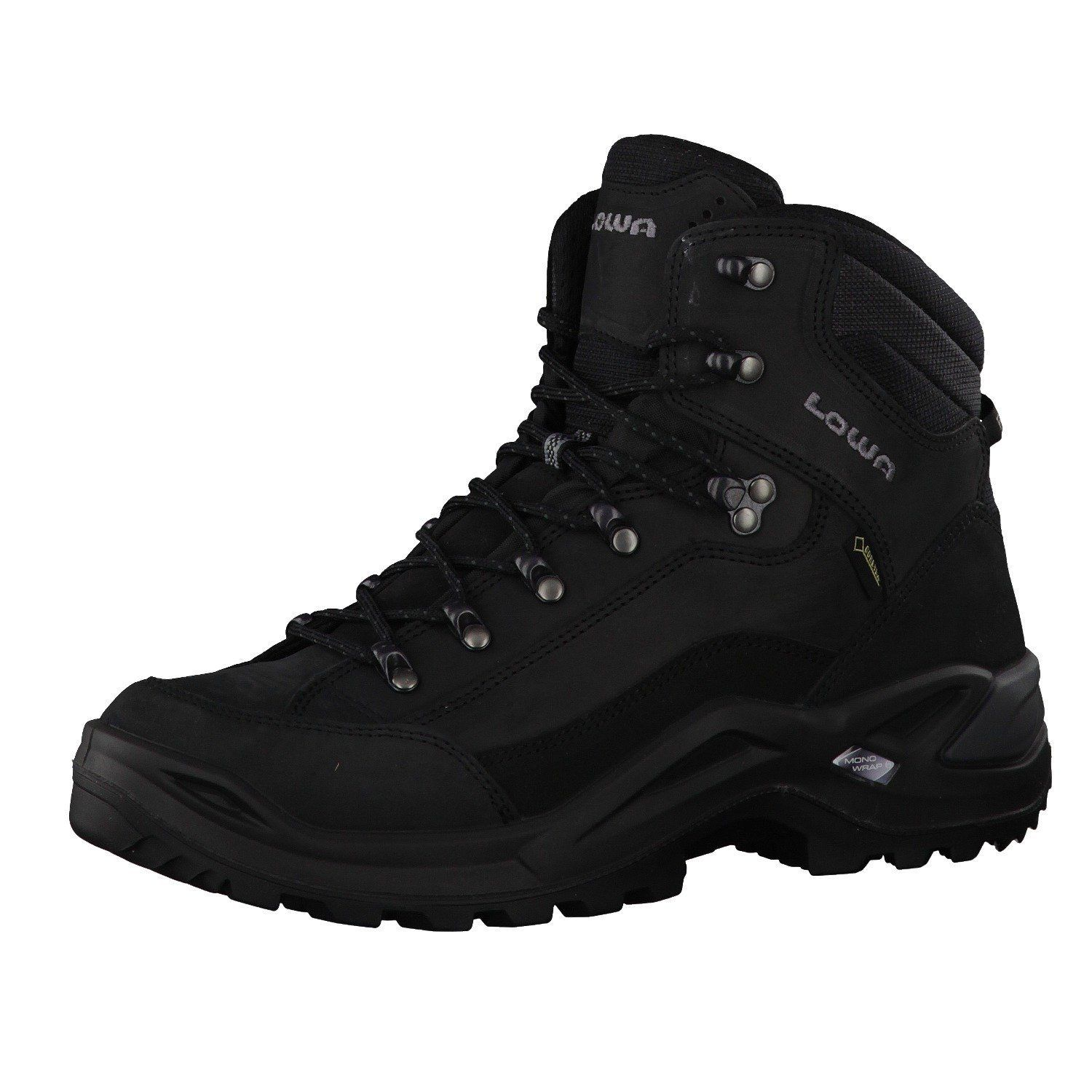 lowa renegade gtx mid men gore tex herren outdoor schuhe hiking boots schwarz ebay. Black Bedroom Furniture Sets. Home Design Ideas