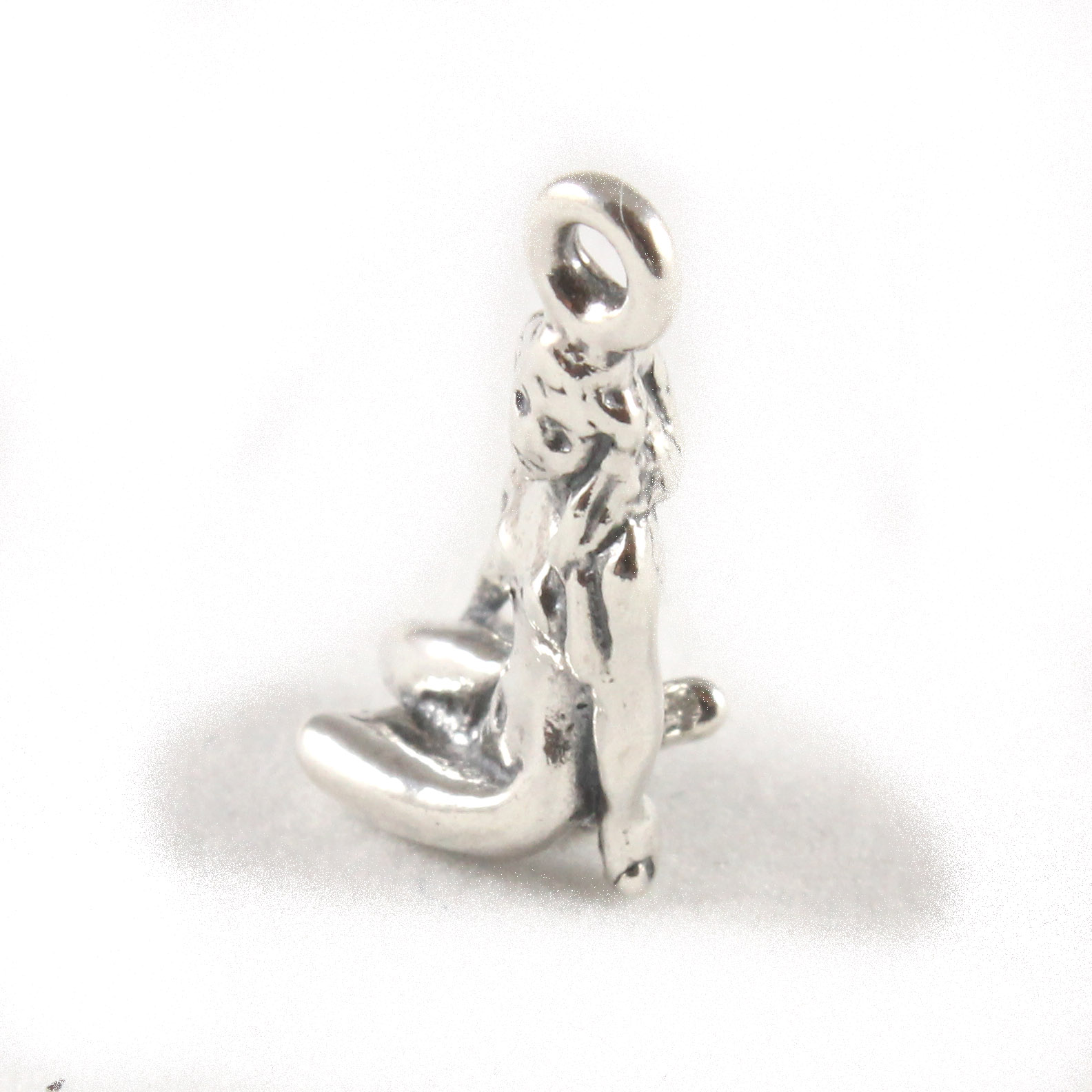 Beautiful solid sterling silver charm that will make the ideal