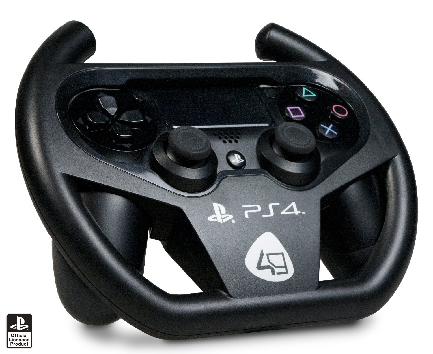 compact racing wheel ps4 playstation 4 brand new free uk. Black Bedroom Furniture Sets. Home Design Ideas