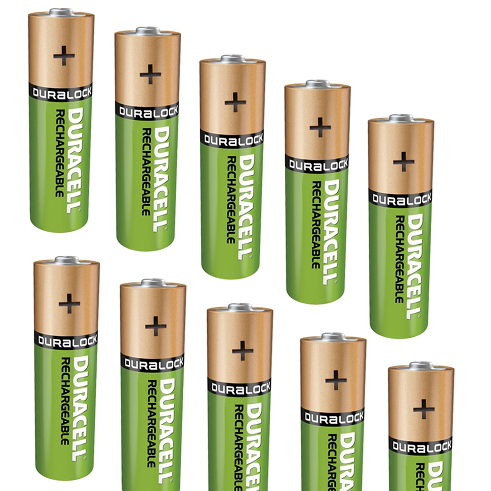 4x duracell duralock aa 2500mah batteries rechargeable. Black Bedroom Furniture Sets. Home Design Ideas
