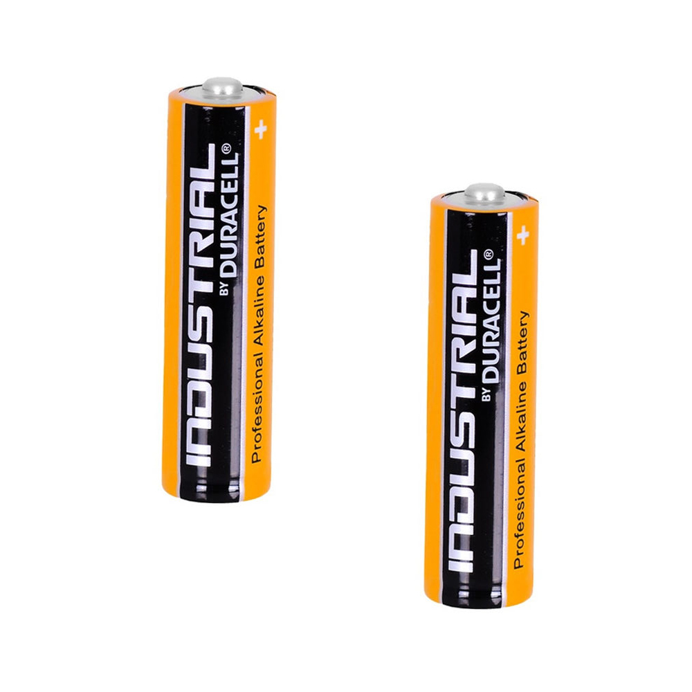 2x duracell industrial aa 1 5v lr6 alkaline battery mn1500 replaces procell aa ebay. Black Bedroom Furniture Sets. Home Design Ideas