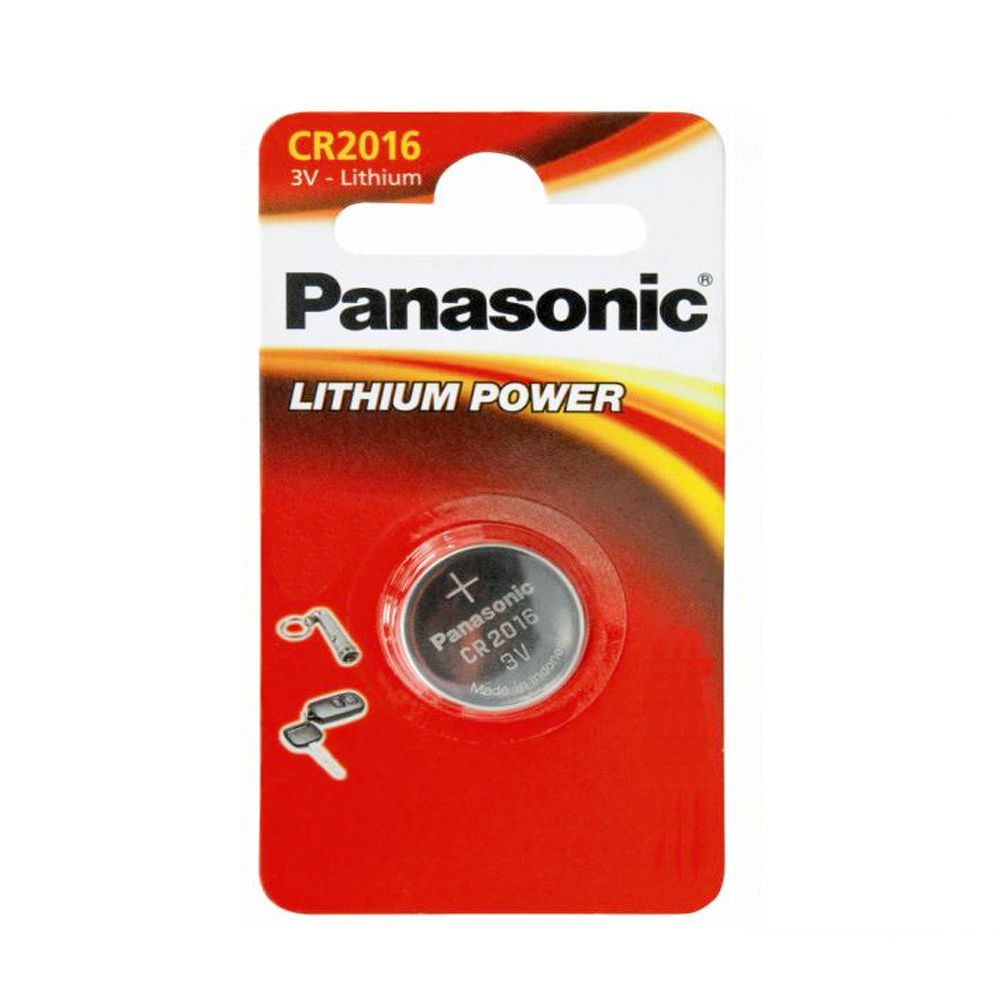 4x panasonic cr2016 lithium coin batteries 3v for pc bell. Black Bedroom Furniture Sets. Home Design Ideas